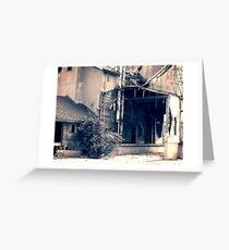 Industrial Structure Greeting Card