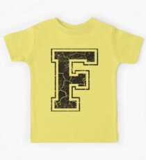 F - the Letter Kids Tee