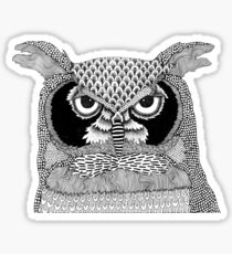 Give a Hoot Sticker