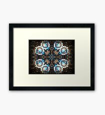 ©DA Fractal Star IV Framed Print