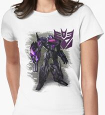 Transformers War For Cybertron - Decepticons: Shockwave Women's Fitted T-Shirt