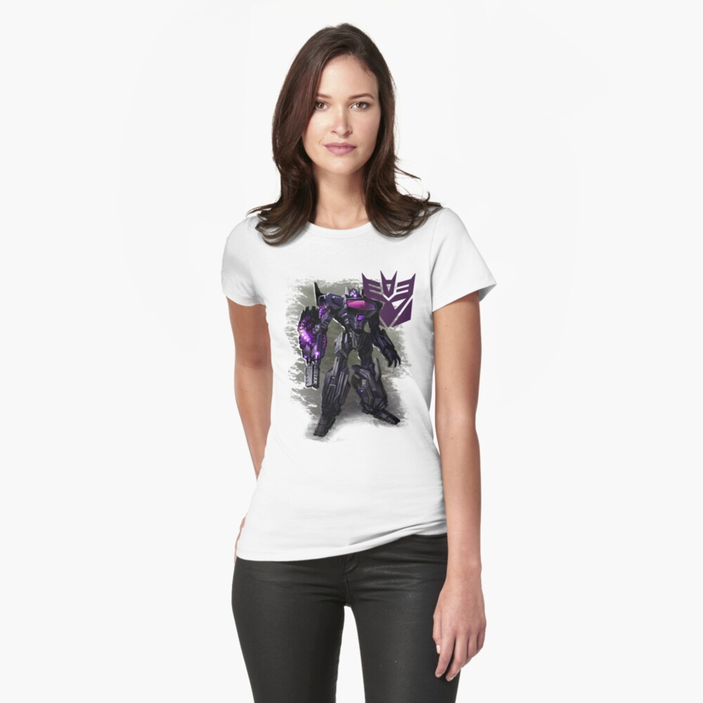 Transformers War For Cybertron - Decepticons: Shockwave Womens T-Shirt Front