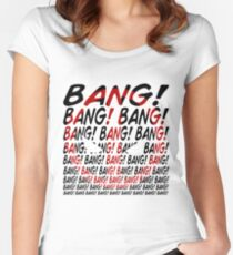 BANG! Women's Fitted Scoop T-Shirt