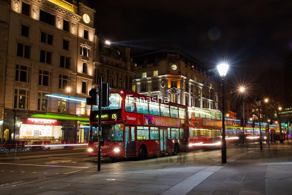 London Buses by Tanasha