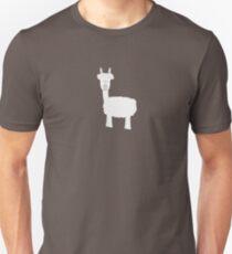 White Alpaca T-Shirt