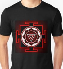 Indian symbol of Kali Yantra Unisex T-Shirt