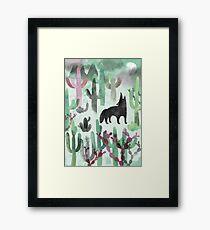 The Desert Framed Print