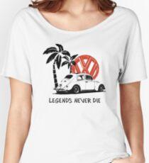 Legends Never Die - Retro BUG T-Shirt Women's Relaxed Fit T-Shirt