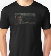 """""""Here in my garage"""" Monologue T-Shirt"""