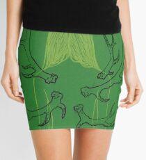 Green Metamorphosis Mini Skirt
