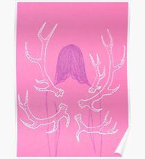 Pink Metamorphosis Poster
