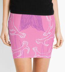 Pink Metamorphosis Mini Skirt