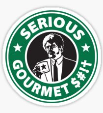 Some Serious Gourmet Coffee (clean) Sticker