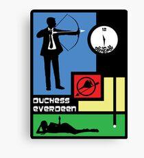 The Archer Games Canvas Print