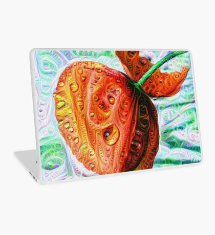 #DeepDreamed Flower 5x5K v1449147619 Laptop Skin