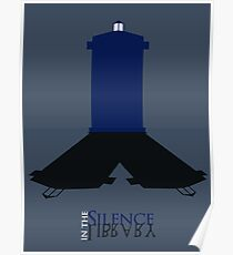 Silence in the Library Poster