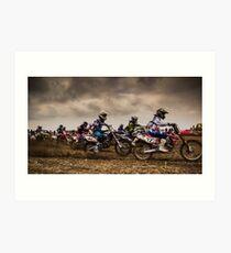 Riders of Kachtem! Art Print