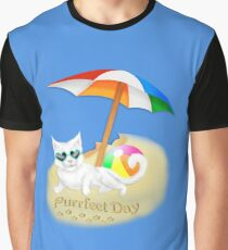 The Purrfect Day Graphic T-Shirt
