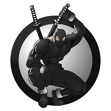 Black Ninja Logo by Tobytang2