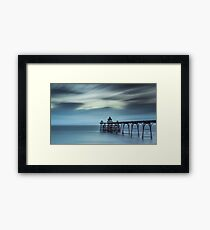 Clevedon Victorian Pier Long Exposure Framed Print