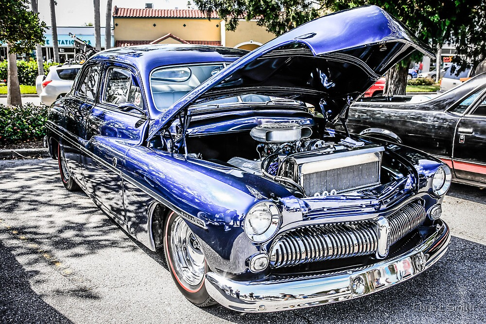 1950s Buick Model 8 American Classic Car by Chris L Smith