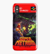 Super Metroid Nintendo Super Famicom Japanese Box Art Shirt (SNES) iPhone Case/Skin