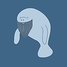 Silly Bearded Manatee by Leonardo Ligustri