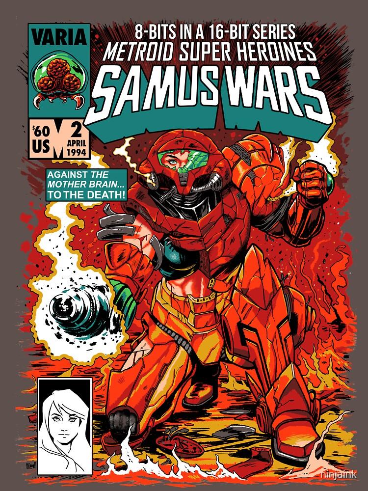 Samus Wars de ninjaink