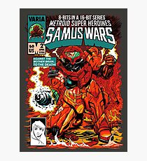 Samus Wars Photographic Print