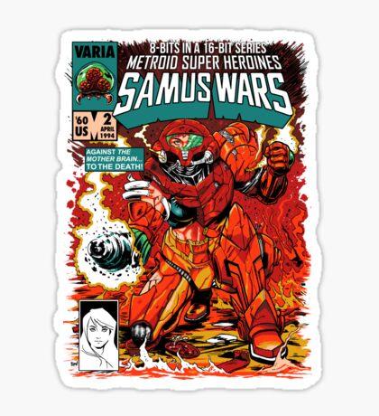 Samus Wars Sticker