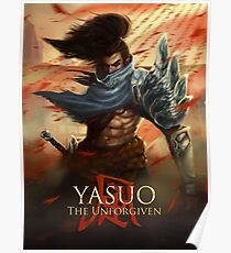 Yasuo The Unforgiven Poster