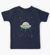 CAT IN SPACE SHIP Kids Clothes