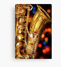 Music - Sax - Very saxxy Canvas Print