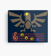 Song of the Songbird (Alt version. No bolts) Metal Print
