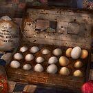 Kitchen - Food - Eggs - 18 eggs  by Michael Savad