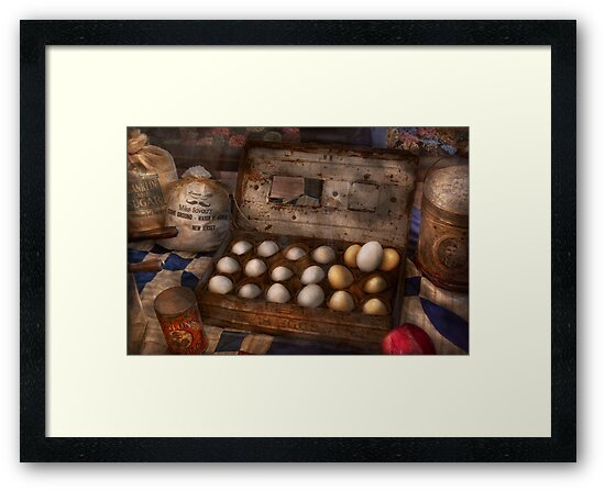 Kitchen - Food - Eggs - 18 eggs  by Mike  Savad