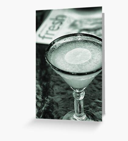 Fresh Lime Margarita Greeting Card