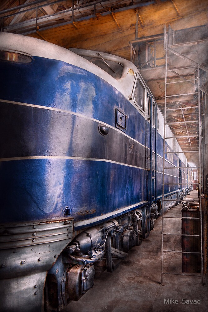 Train - The maintenance facility  by Michael Savad