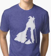 On an Adventure - inverted Tri-blend T-Shirt