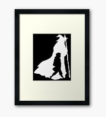 On an Adventure - inverted Framed Print