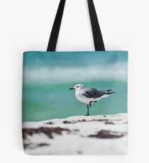 Beach Yoga - Third Pose Tote Bag