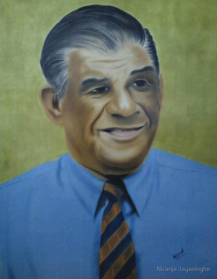 Prof. V. K. Samaranayake by Niranja Jayasinghe
