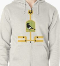 Journey into Misery Zipped Hoodie