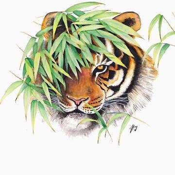 Hidden Tiger by jf901