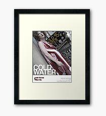 Cold Water - Justin Bonds Framed Print