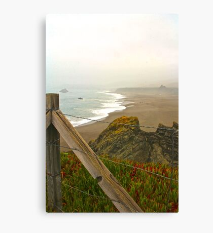 Beach Overlook Canvas Print