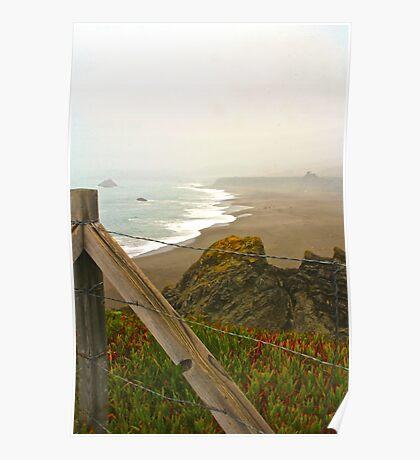 Beach Overlook Poster