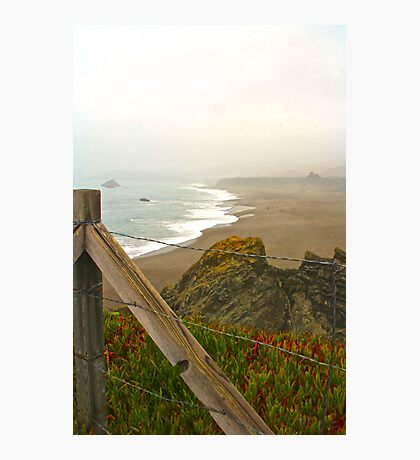 Beach Overlook Photographic Print