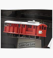 Mini Cable Car Poster