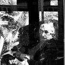Through a Dirty Window by Berns